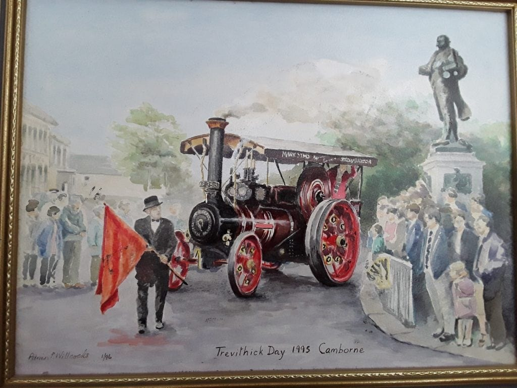Trevithick Day Camborne- original oil painting