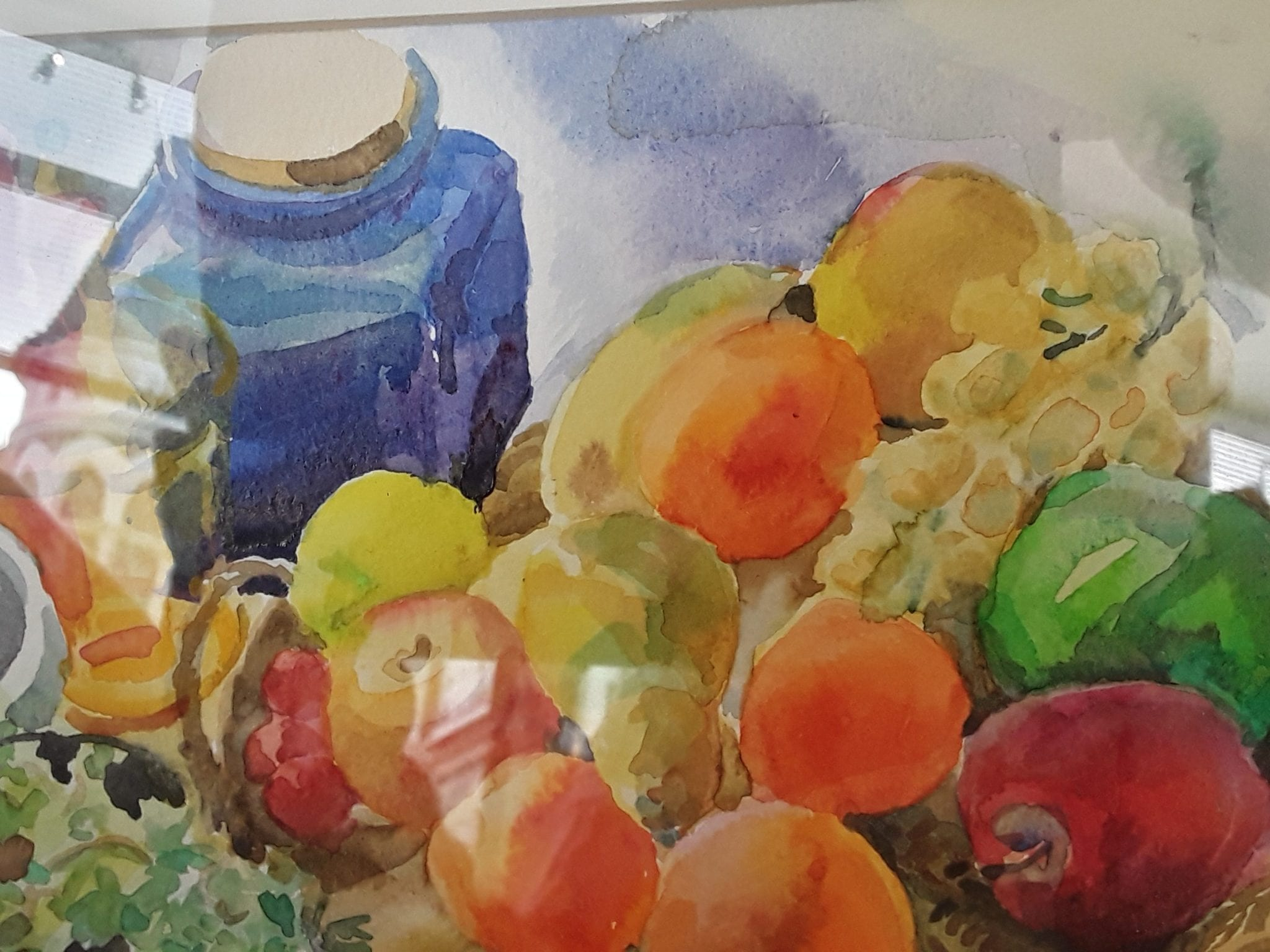 Contemporary still life watercolour
