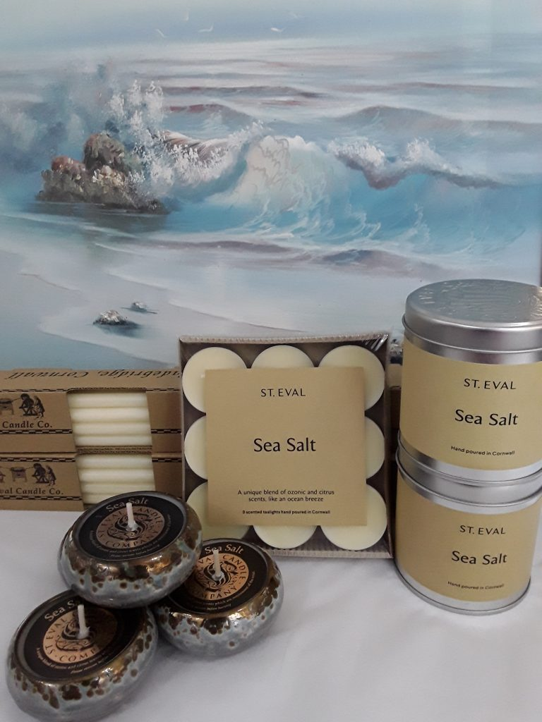 Sea Salt St Eval Candles